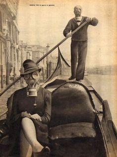 Venise, 1940. La guerre en gondole.