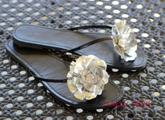 Crafty Sisters:  Duct Tape Flip Flops