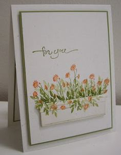 Set of Spring Flower Box cards