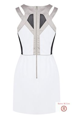 People's Choice Awards 2013-Discount Karen Millen Sporty Colour Block Dress Black Multi Outlet 265 Secure shopping.