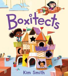 "Read ""Boxitects"" by Kim Smith available from Rakuten Kobo. A STEAM-centered, adorably illustrated picture book about Meg, a brilliant and creative boxitect who creates extraordina. Date, African American Books, Children's Book Illustration, Illustration Children, Book Illustrations, Character Illustration, New Students, New Kids, Childrens Books"