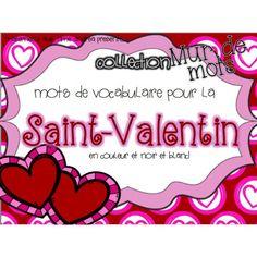 Collection Mur de mots - Mots de la Saint-Valentin