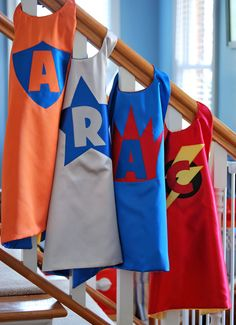 Customizable Reversible Super Hero Capes from by EverybodysHero, $25.00