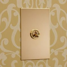 Unlacquered Brass Toggle Switch: Forbes & Lomax have been catering to the niche market of designer light switches, dimmers and outlets in London, since 1988 and are pioneers of the Invisible Lightswitch®. Variety of styles & finishes. Available in unlacquered brass, nickel, bronze finishes, stainless steel.