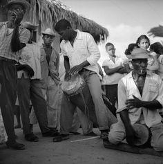Tocadores de tambor de crioula - Cururupu, 1958