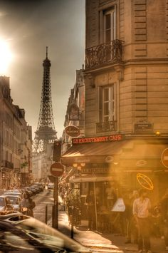 Summer in Paris, France
