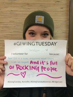 #GivingTuesday #GivingTuesday #unselfie