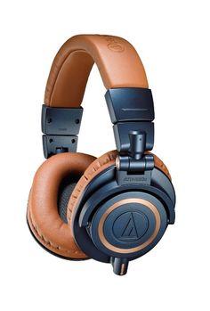 Amazon.com : Audio-Technica ATH-M50xBL Professional Headphones - Blue : Musical Instruments