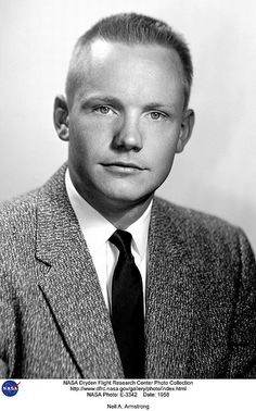 Neil A. Armstrong | First man on the moon.