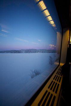 Utsikt från tåg I