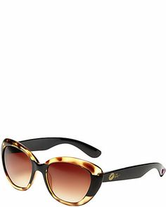 CATEYE WITH COLOR BLOCKING LEOPARD
