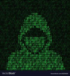 Hacker on binary code background Royalty Free Vector Image , Code Wallpaper, Hacker Wallpaper, Hacker Art, These Broken Stars, Free Vector Images, Vector Free, Vector Graph, Dreamcatcher Design, Code Art