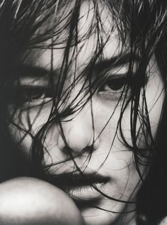 Liu Wen photographed by Txema Yeste in Antidote Fall 2012