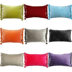 Which one is for you? Terry Velvet Cushion Range