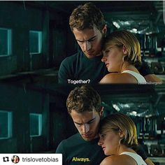 Allegiant movie --- Didn't think much to it, wasn't like the book :( Divergent Fanfiction, Divergent Jokes, Divergent Fandom, Divergent Trilogy, Divergent Insurgent Allegiant, Insurgent Quotes, Tris And Four Fanfiction, Tris Y Tobias, Divergent Theo James