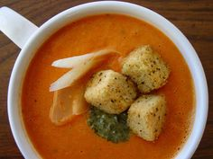 Lick The Bowl Good: Olivia's Croutons Review and Soup!