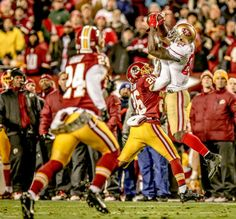 One of Q's 2 TDs versus the Skins on #MNF - Let's go #49ers #QuestForSix