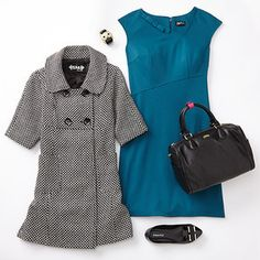 You've picked up back-to-school backpacks, binders and clothes for the kids: now it's your turn, Mom! Set the tone for a fabulous fall with an ensemble that works in the office, at a PTA meeting or even out on the town. From classic dresses to statement earrings and polished pumps, you'll find everything you need—from petite to plus size—to assemble a first-class outfit.