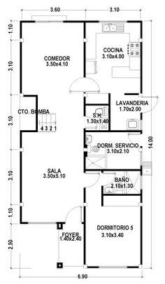 casas planos 100m2 - Buscar con Google