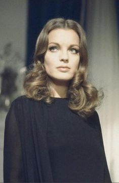 Romy Schneider. Austrian-born film actress who achieved success in Germany and France.