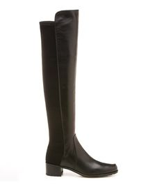 """Need another pair!!!! RESERVE: All Boots : Boots   Stuart Weitzman Canada *Similar to the popular 5050, the RESERVE boot will give you more lift (1 inch higher) and has an almond toe-shape compared to 5050's rounded toe. Pull on with back stretch Heel height measures approxiately 1 ¾ inches 18"""" shaft height, 14"""" circumference Suede, nappa Leather footbed Rubber sole Made in Spain"""