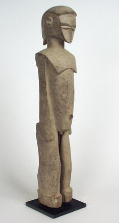 Burkina Faso; Lobi peoples -  bateba serve as intermediaries between protective spirits, Thila, and men. The bateba belong to Thil and can carry out their orders, holding out an arm to prevent the entrance of evil into the household, or flying through the night to warn of danger.....
