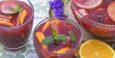 Creative wedding punch cocktail recipes