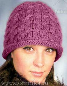 0e7c109a6 knitting dámske pletené čiapky · Herring Bone Hat Šatky Do Vlasov,  Háčkované Čiapky, Šitie, Šatky, Turbany,