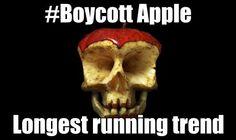 #boycottapple