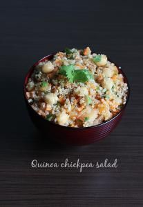 """Quinoa pronounced as """"kheen-wah"""" is a seed that is gluten free and is much used like a grain in various dishes. Though they are high in carbs, considered as a super food due to their high nutritional profile like amino acids, protein, minerals, antioxidants and are low inglycemic index. Hence suitable for diabetics and can …"""
