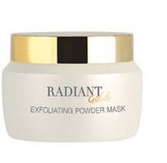 Ir Beautina Radiant Gold Exfoliating Powder Mask by IR Beautina. $19.35. Dust mask specially formulated to help skin cells shed. And reduce irritation from pollution. The sun also helps reduce oily skin and skin whitening.  Directions: Mix herbs, modest eyes with water or with Essence's shed skin cells. Leave the mask for 20 minutes until dry (except around the mouth and eyes) and then water lightly, then gently scrub breeze from the chin to forehead. To help shed skin cells. ...