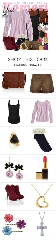 """""""[Diabolik Lovers] Komori Yui - Casual Outfit"""" by animangacouture ❤ liked on Polyvore featuring Marc by Marc Jacobs, Alice + Olivia, Isabel Marant, American Eagle Outfitters, Kasun, Oasis, Betsey Johnson, Tom Ford, Fendi and IBB"""