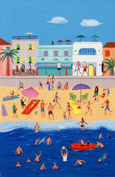 Chris Long - Beach scene