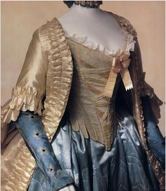 Jacket (pet-en-l'air) and petticoat, late 1760s