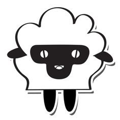 Sheep. Highly absorbent #cute