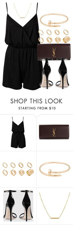 """Sin título #12627"" by vany-alvarado on Polyvore featuring NLY Trend, Yves Saint Laurent, ASOS, Cartier, Gucci and Dutch Basics"