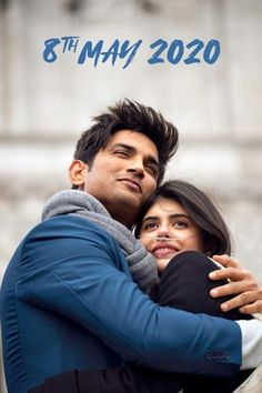 Release date finalized. to release on 8 May Stars Sushant Singh Rajput and Sanjana Sanghi. Directed by Mukesh Chhabra. Produced by Fox Star Studios. Latest Bollywood Movies, Bollywood Actors, Bollywood News, Latest Movies, Bollywood Images, Bollywood Updates, Bollywood Saree, Bollywood Celebrities, Bollywood Fashion