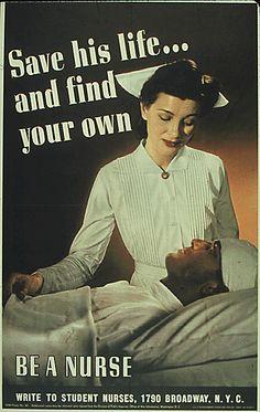 nursing | Famous Nursing War Posters