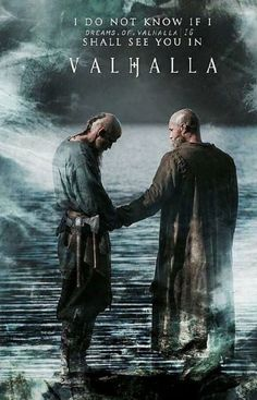 This is so beautiful! Their relationship has so tumultuous and Ragnar never appreciated Floki the way he should and this was the moment of acknowledgement I have been waiting for, for years! - - No me duele, me quema, me lastima. Vikings Travis Fimmel, Ragnar Lothbrook, King Ragnar, Vikings Tv Show, Vikings Tv Series, Lagertha, Viking Life, Viking Warrior, Citations Viking