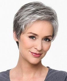 Short Choppy Hairstyles 2017 for Women Over 40