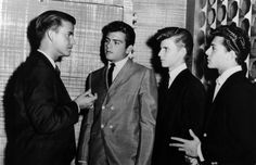 American Bandstand... Jackpot... Fabian, Bobby Rydell and Frankie Avalon.