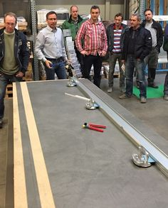 Training day that included practical exercises handling, cutting and installing #Coverlam in Gotha, Germany,