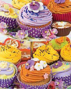 ¡Qué delicia! Puzzle de cupcakes de la marca Springbok, 350 piezas :)