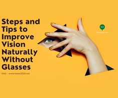 Steps and Tips to Improve Vision Naturally Without Glasses -  Tosee2020 Diseases Of The Eye, Diabetic Retinopathy, Eye Infections, Visual System, Vision Therapy, Eye Exam, Eye Doctor, Simple Words, Cool Eyes
