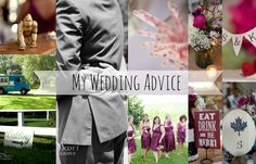 from the desk: A Few Wedding Tips