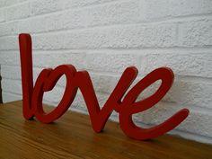 Letras Corporeas,mdf Fibrofacil, Carteles, 3d, Love, Polyfan