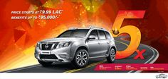 Exclusive Offers for the Festive Season given by Nissan in India | Car Crox