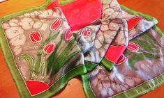 #silkpainting #selyemfestes #silkdesign #silkart #selyemsal #christinaherner #ajandek Silk Design