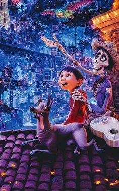 Coco. Hector es una princesa XD la verdad no se donde mas guardar el pin... Walt Disney, Disney Magic, Disney Art, Disney Pixar Movies, Disney And Dreamworks, Disney Cartoons, Disney Channel, Desenho Tattoo, Disney Addict