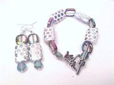 Handmade bracelet & earrings